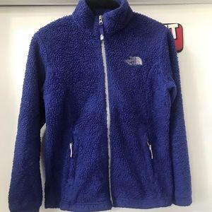 The North Face Fleece Zip Up Jacket Girls 10/12